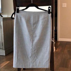 Antonio Melani Gray Pencil Skirt - Size 0